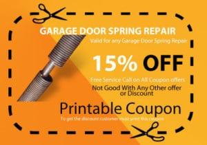 garage door broken springs