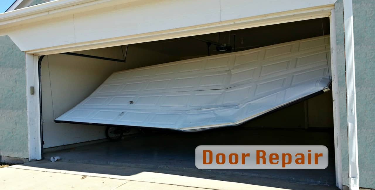 garage door off track repair